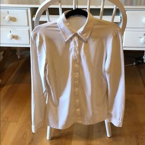 J. McLaughlin White Shirt